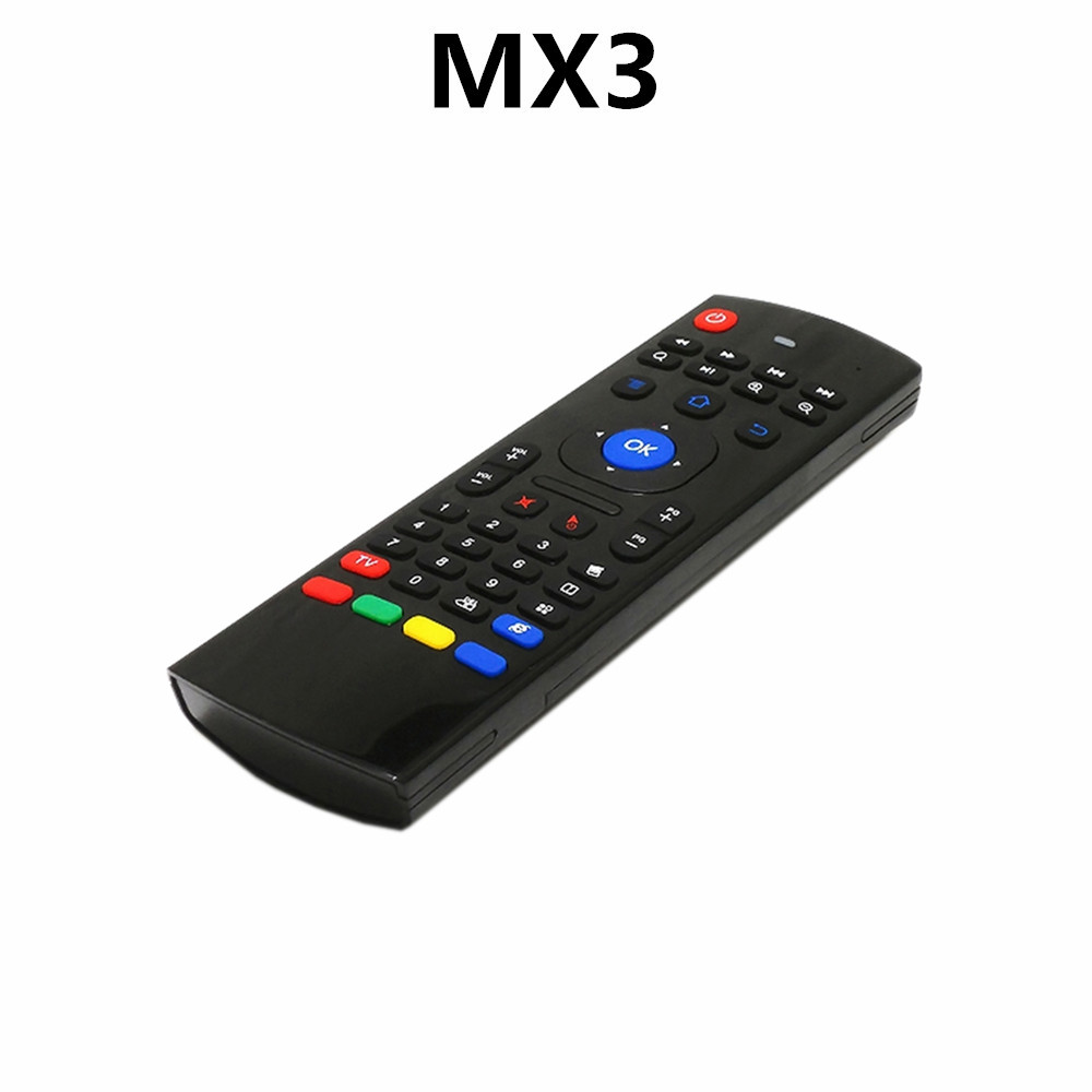 MX3 Air Mouse Wireless 2.4G Remote Control Keyboard for Android Mini PC <strong>TV</strong> <strong>Box</strong>