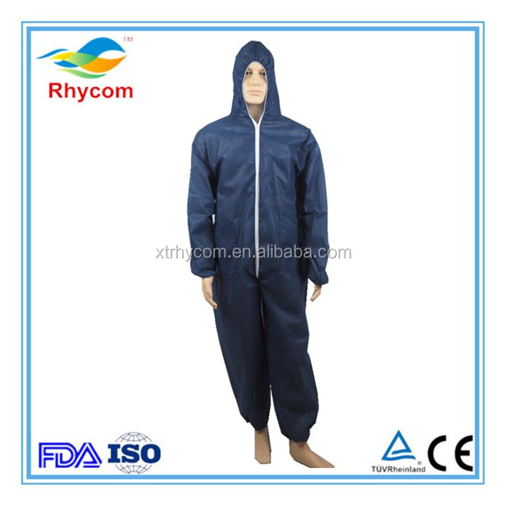 Hot Design From Thailand Microporous Working From Thailand Working Safty Disposable Coverall