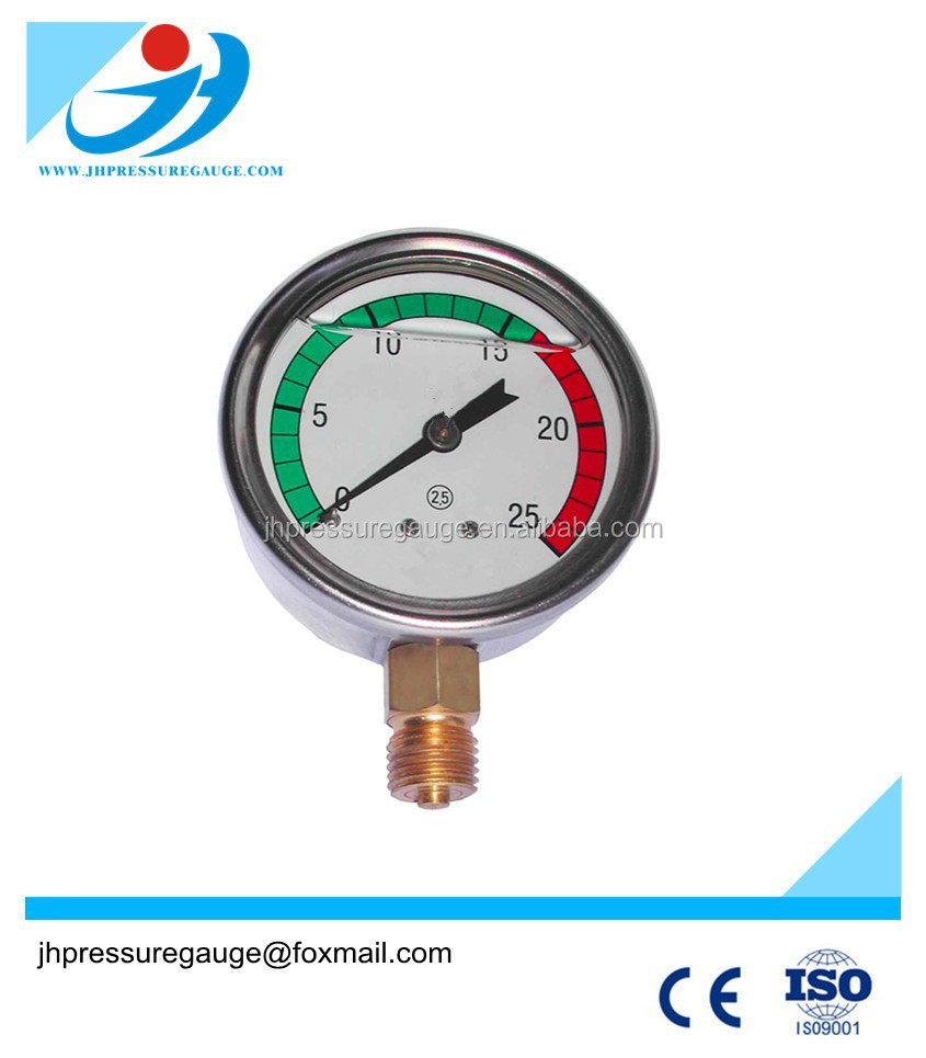 63 mm only stainless steel housing pressure gauge cover