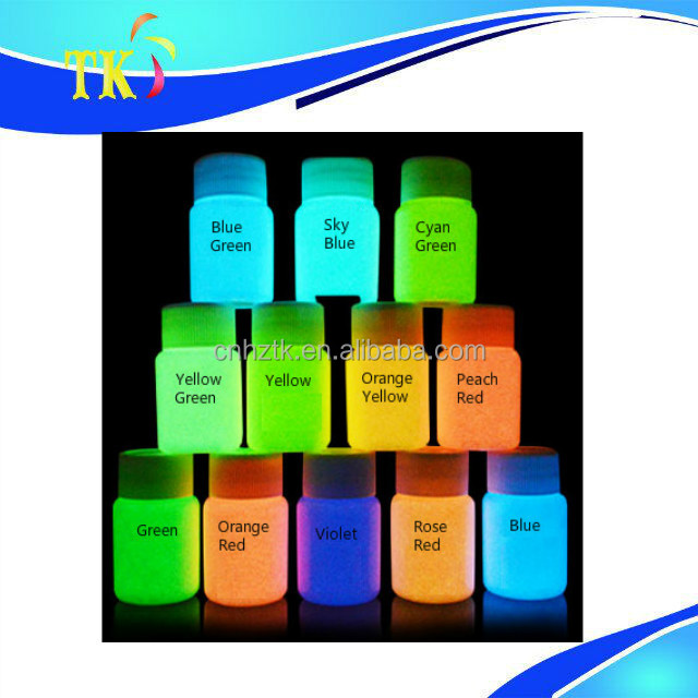 Strontium Alunimate Photoluminescent pigment,Night glow pigment powder