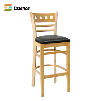 Cheap Price Modern Restaurant Furniture Used Wooden Bar Stools