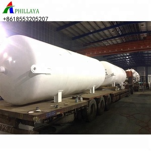 stainless steel carbon steel lpg lng oil milk water storage tank 100000 liter with cheap price for sale