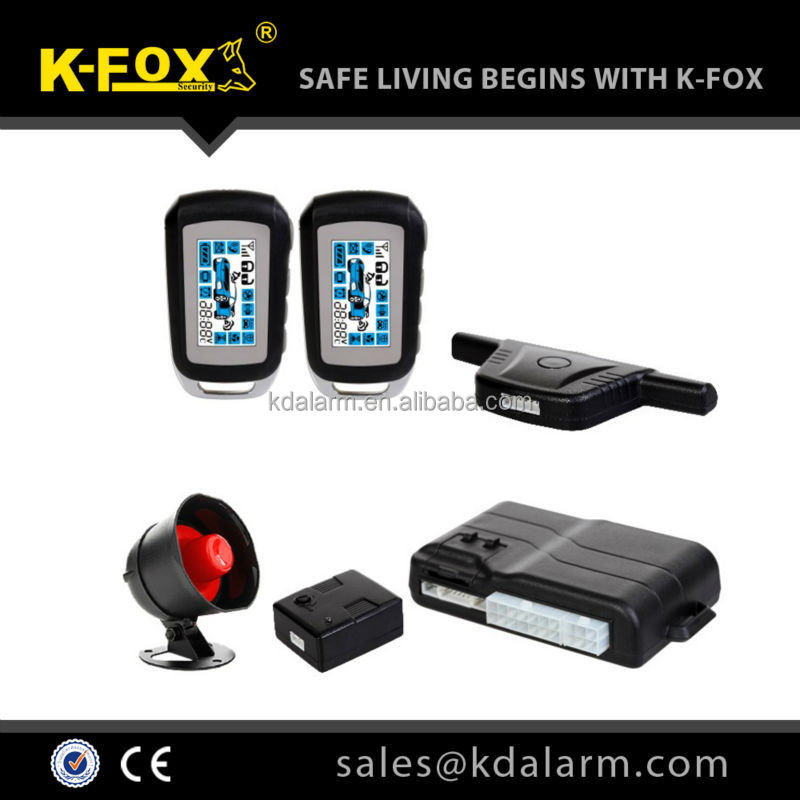 FM two way car alarm with best quality suit for mid-east market