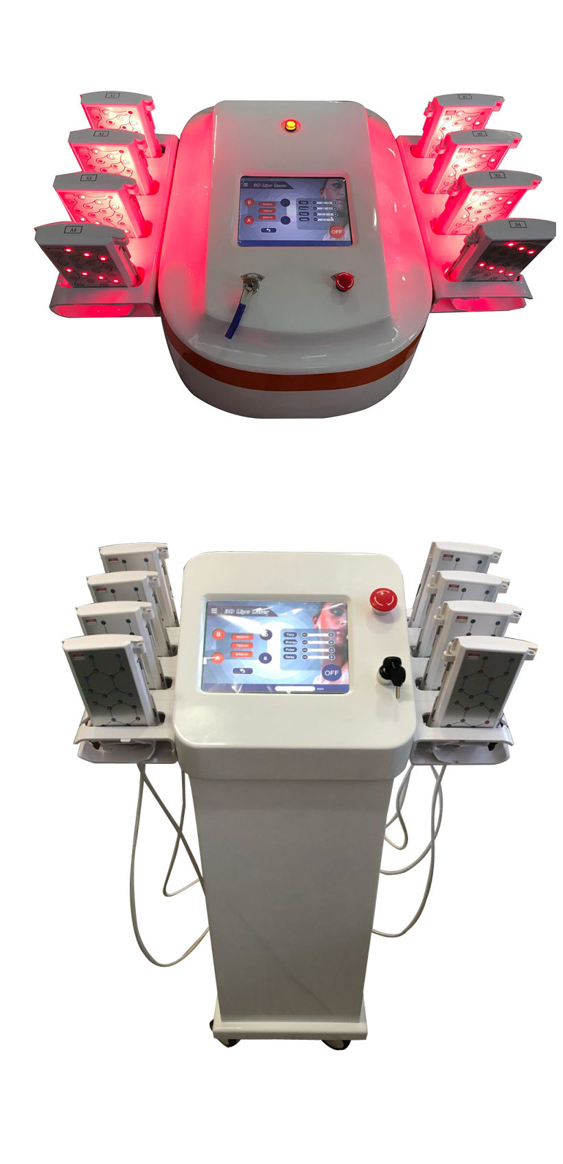 Save Time GOMECY lipo Slimming Laser machine  weight reduction de grasa for business using no consumers lipo pads.jpg
