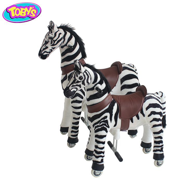 The Last Day's Special Offer Little Pony Ride Toy Animal Cycle 1 Girl 1 Horse