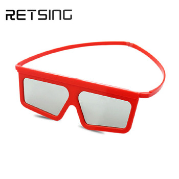 Plastic 3d glasses linear polarized IMAX cinema 3d glasses