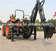 LW Series 3-point hitch backhoe loader for tractor with C E agriculture equipment