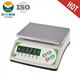 White Color Heavy Duty 6V4A Battery Weighing Scale,Double Plate And High Accuracy 30kg / 1g
