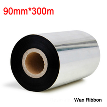 3.54 inch *984.5ft (90mm*300M)wax Ribbon for Label and barcode printer.