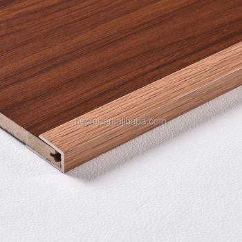 Vinyl Flooring Accessories Pvc End Cap Edge Trim J Shaped U Profile