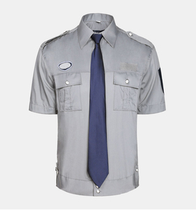 Hot sale new style Summer short sleeve service security guard uniforms workwear