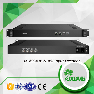 2 Channels IP ASI to SDI out HD/SD Decoder