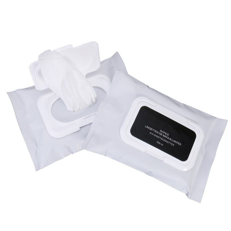 High Quality Adult Use Disposable Spunlace Face Makeup Remover Cleaning Wet Wipe