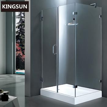 K 7504 Pakistan Standard Size Frameless Glass Shower Door Security