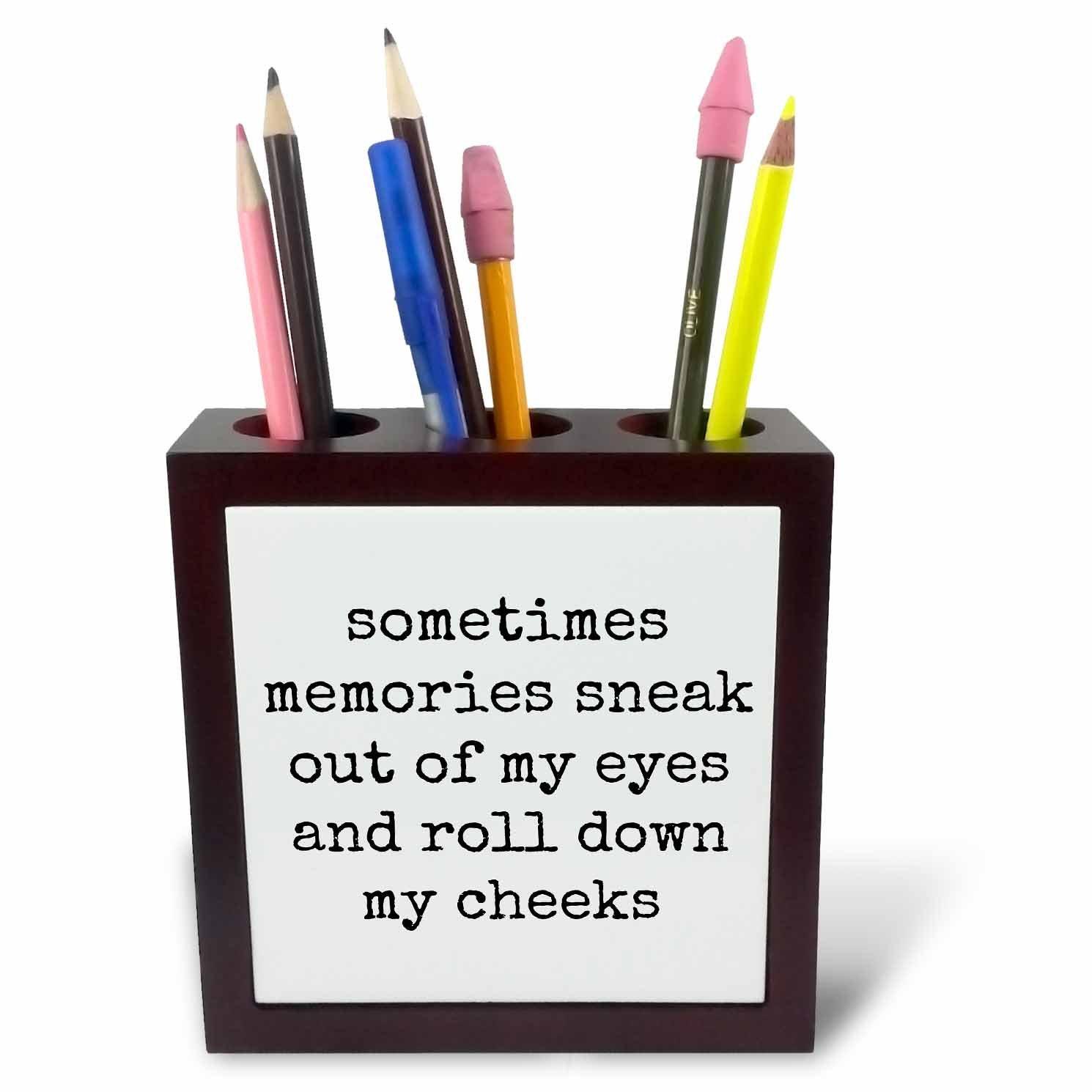 Buy Xander inspirational quotes - Sometimes memories sneak