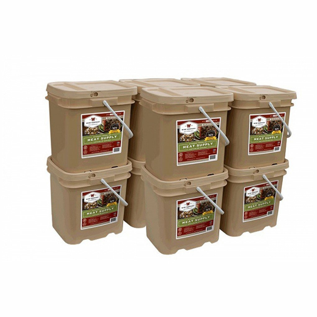 Long Term Food Storage - Wise Foods Storage Meat Bucket - 600 Servings