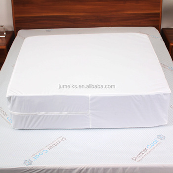 Washable Waterproof Mattress Cover With Zipper Argos