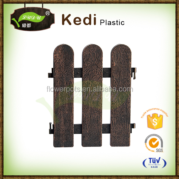 bamboo indoor plastic flower garden barrier fence