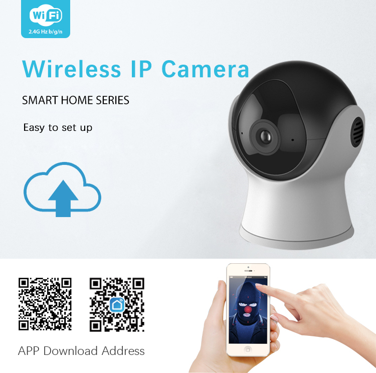 Tuya Smart Life App Wireless Wifi Controlled P2p Cctv Camera For House And  Offices - Buy P2p Camera,Wireless Camera P2p,House Camera Product on