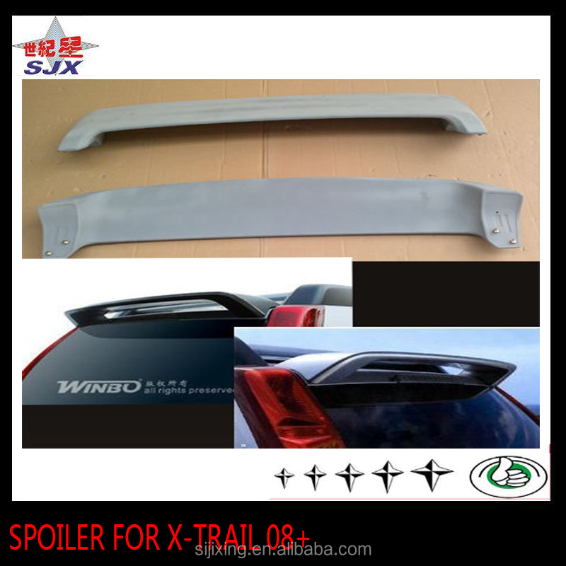 New abs plastic spoiler for X-TRAIL 08+ AUTO REAR WING