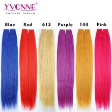 Wholesale good quality hair skin wefts