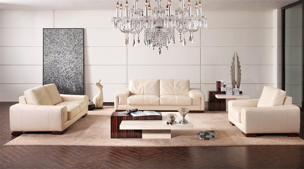 China Modern Cream Genuine Leather Sofa Set Fancy Living Room Furniture Buy Modern Genuine Leather Sofa Set Leather Sofa Set Living Room