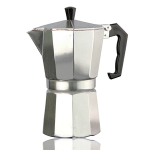 Espresso aluminum coffee maker 1/2/4/6/9 cups