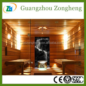 Low Iron Tempered Folded Glass Doors