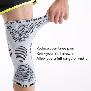 KANGDA Single Knee Brace/Knee Sleeve/Knee Support for Arthritis, Meniscus Tear, ACL, MCL, Joint Pain Relief