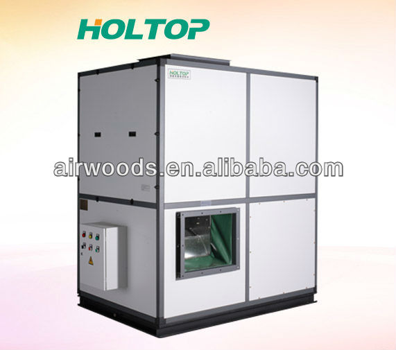 Industrial heat recovery air handling unit, air purifier