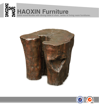 Modern Side Table For Furniture Interior Home Design Natural Tree Stump  Side Table