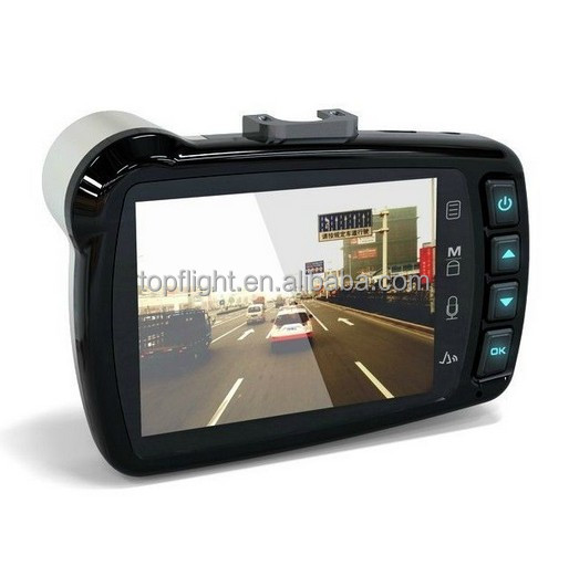 "Full HD 1080P Car Cam DVR Vehicle Camera 2.7"" LCD 140 Angle Night Vision TIG-S6000"