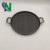 Wholesale grill pan, fireplace skillet, ribbed cast iron skillet