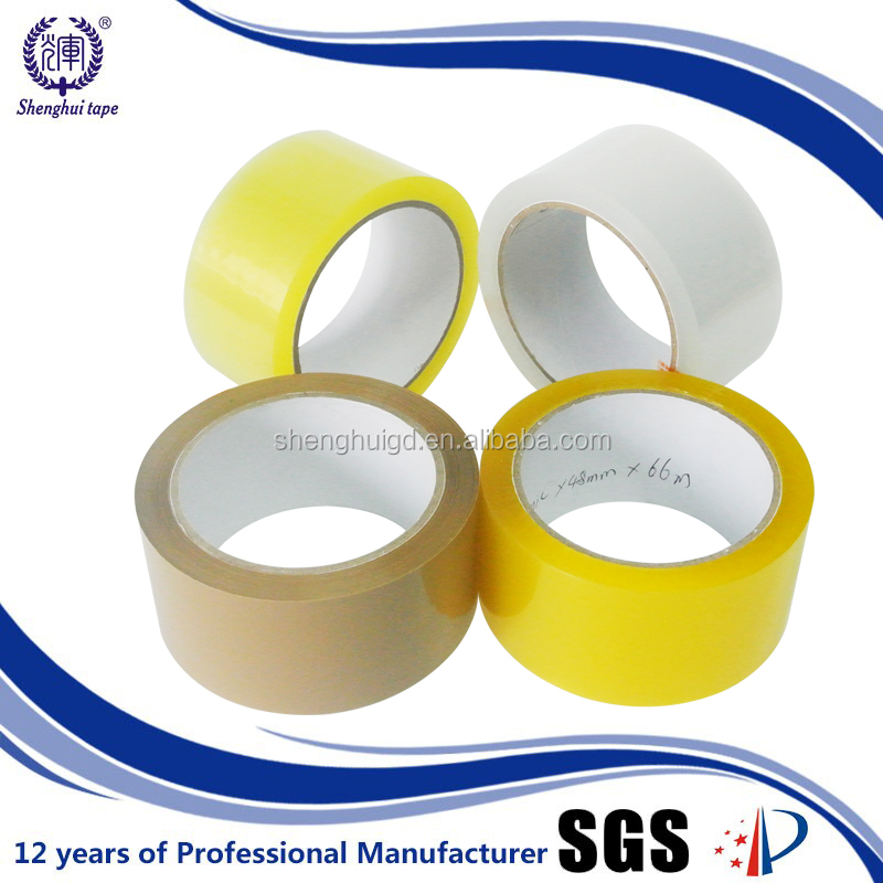 High quality Printed,Color and Clean Bopp clear adhesive tape,factory manufacturing tape