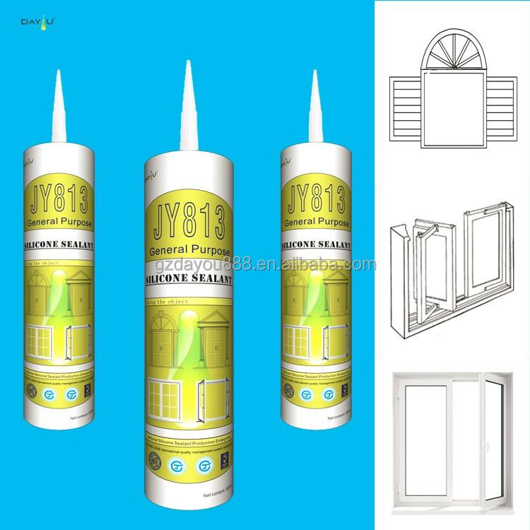 Alta adhesivo y sellador de silicona de curado r pido para - Sellador de silicona ...