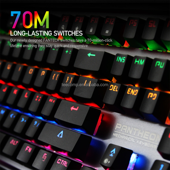 42275a4f9a8 Fantech MK881Fantech RGB Backlit Anti Ghost Full Keys ANVOGO 5050 ABS  Aluminium Ergonomic Keyboard Amazon Top