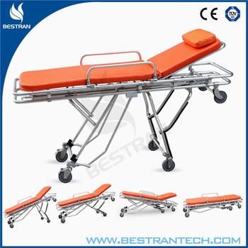 China Supply Bt-ta004 Hospital Aluminium Ambulance Bed Medical ...