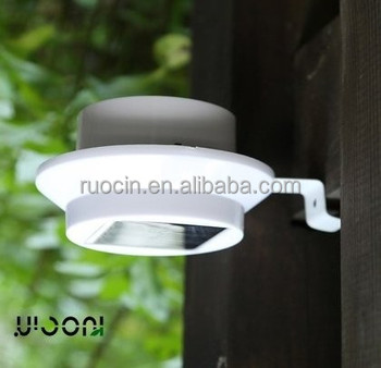 Shezn Factory Manufacturer Outdoor Rain Proof Led Recessed Light  Rechargeable Solar Led Wall Light