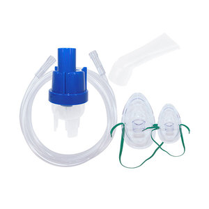 Factory OEM Medical Disposable Inhaler Oxygen / Nebulizer Kit FU-KC112 / Set With Mask
