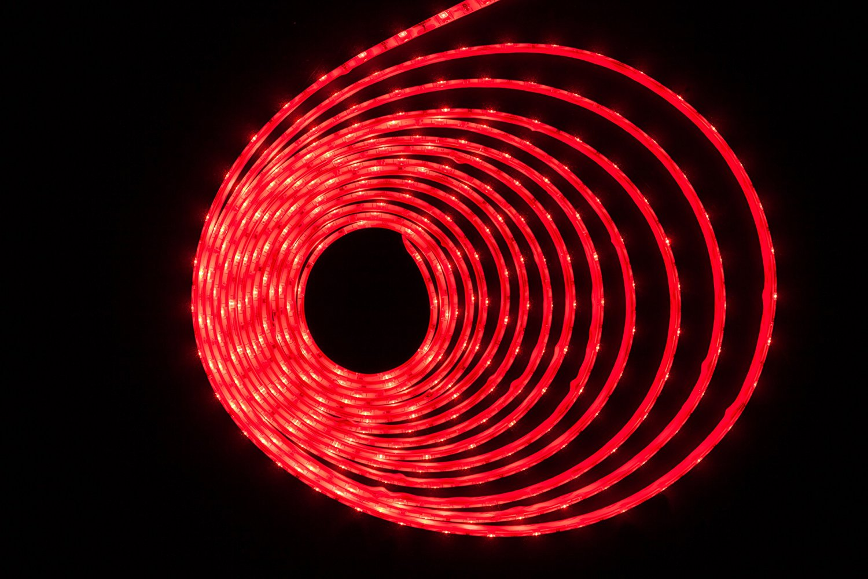 hkbayi Super Bright 5M 5730 SMD LED strip flexible light 12V Waterproof 60LED/m LED Chip 5730 Bright Than 5630 (red)