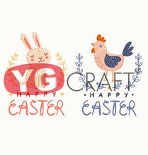 Home Decoration Family  Easter  wall decoration