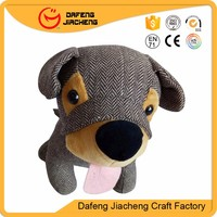 High Quality Dog Shaped Draft Door Stopper With Sand Filling