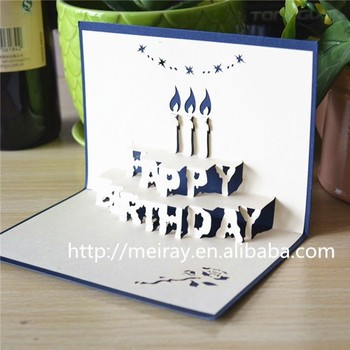 Fancy Design 3d Happy Birthday Greeting Cardshappy Birthday Cards