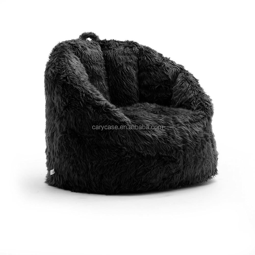 Phenomenal 32 X 28 X 25 Inches In Size Black Fur Bean Bag Sit Recliner Gamer Beanbag Living Room Sofa Chair Buy Soft Fur Bean Bag Bean Bag Chairs Bulk Adult Evergreenethics Interior Chair Design Evergreenethicsorg