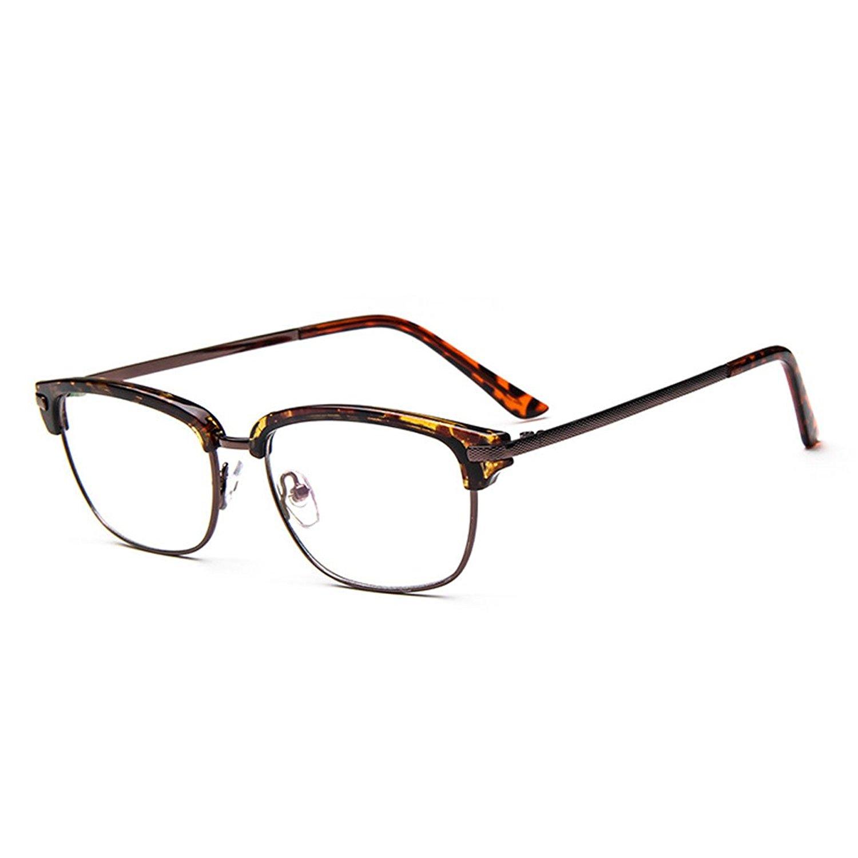 18737dff5095 Get Quotations · D.King Vintage Rectangular Reading Glasses Frame Optical  Eyeglasses for Women