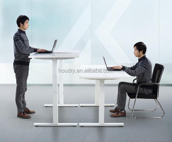 Variable Height Office Desk Electric Standing Desk Height ...