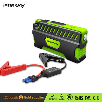 Iforway 400a Peak Auto Battery Charger Portable Phone Pack Booster Built In Led Flashlight