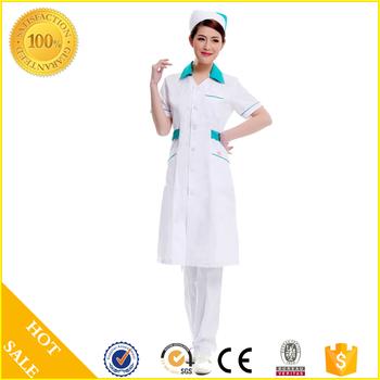 db6ef5b863e Comfortable Contrast Color V-Neck Scrub Top Medical Uniforms Nurse Scrubs  Hospital Uniforms Medical Scrubs