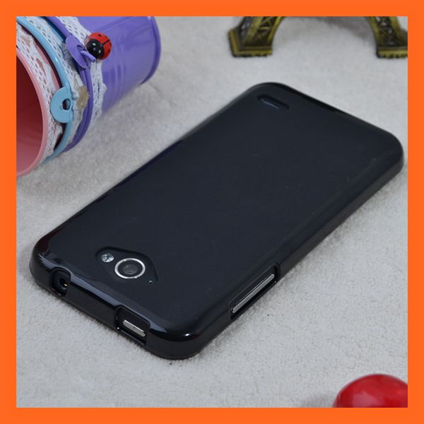 Factory Price Black Pudding TPU Case Orange Hi 4G