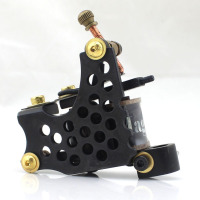 Handmade Iron 14 coils Rotary body Tattoo Machine